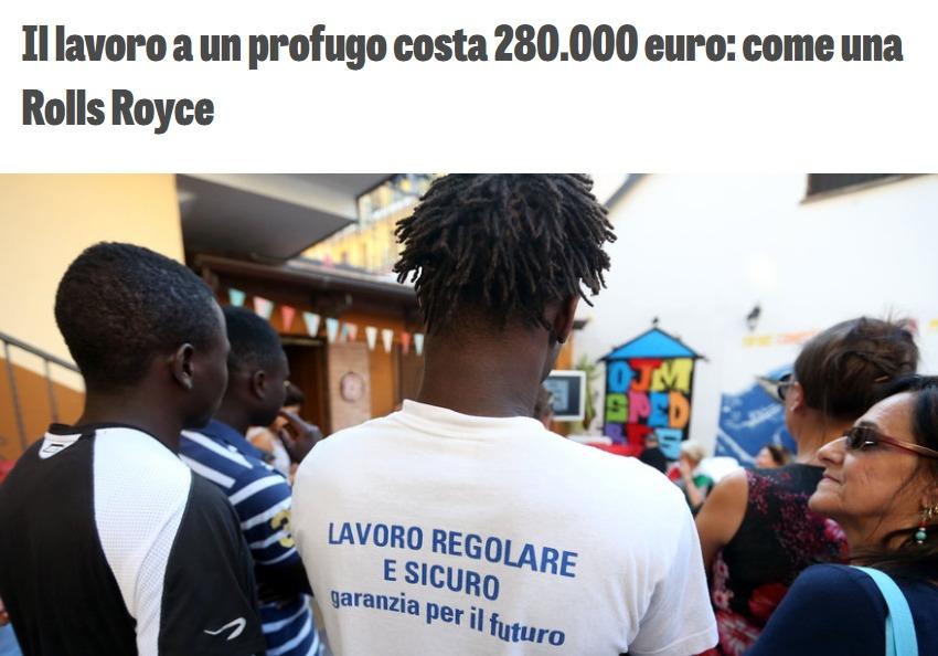 Caccia alle bufale: i 280mila euro per trovare lavoro a un immigrato foto 3
