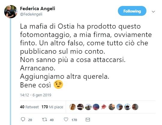 L'anti-bufale: un fotomontaggio per screditare la Angeli e Repubblica foto 2