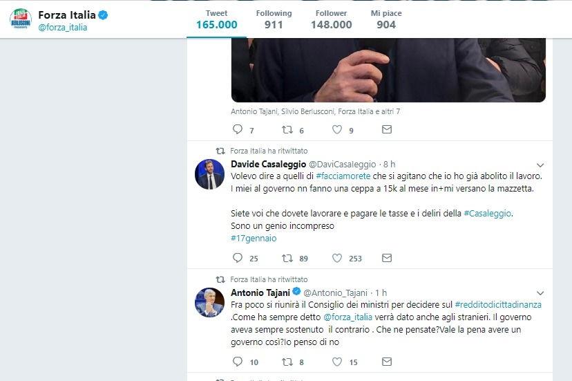 Quando i politici condividono gli account fake su Twitter foto 3