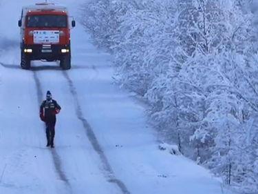 Siberia, corre per 39 chilometri a -52°C: l'impresa è di un poliziotto italiano foto 1
