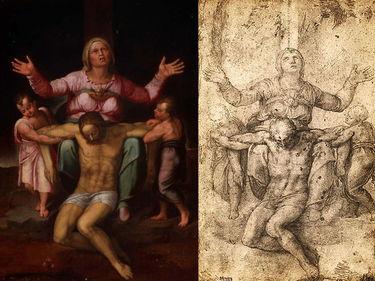 Trafugata in Belgio la «Sacra Famiglia» attribuita a Michelangelo. Ma sarebbe «un falso» foto 8