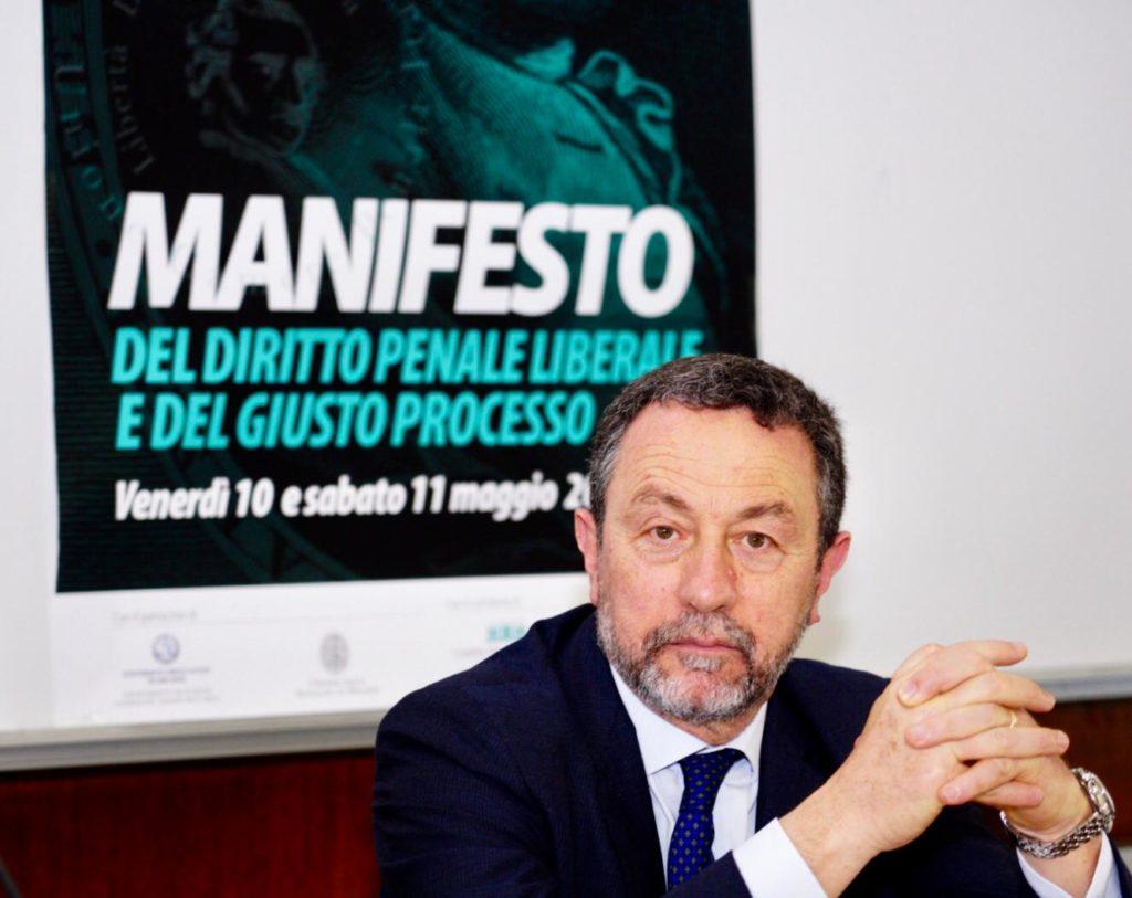 il presidente dell'Unione Camere Penali Italiane, Gian Domenico Caiazza
