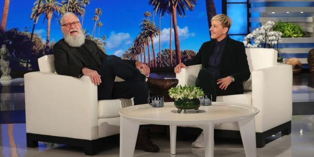 DeGeneres e David Letterman