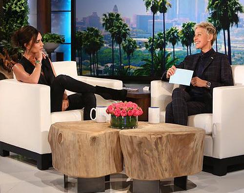 Victoria Beckham The Ellen DeGeneres Show