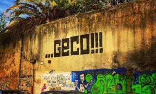 GECO | Una scritta a Lisbona, in Portogallo