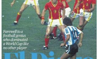 morte-maradona-prima-pagina-the-guardian-sport