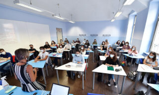 ITALY CORONAVIRUS PANDEMIC SCHOOLS