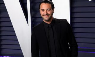 epa07396361 Jack Huston poses at the 2019 Vanity Fair Oscar Party following the 91st annual Academy Awards ceremony, in Beverly Hills, California, USA, 24 February 2019. The Oscars are presented for outstanding individual or collective efforts in 24 categories in filmmaking.  EPA/NINA PROMMER