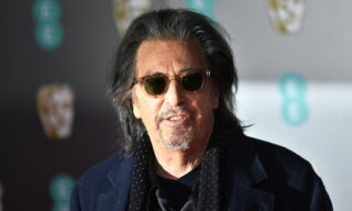 epa08984489 (FILE) - Al Pacino attends the 73rd annual British Academy Film Award at the Royal Albert Hall in London, Britain, 02 February 2020.  Al Pacino was nominated as Best Actor in a Television Series for 'Hunters' for the 78th Annual Golden Globe Awards. The Golden Globes 2021 are planned to take place virtually on 28 February.  EPA/NEIL HALL *** Local Caption *** 55844369