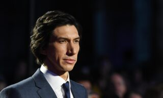 """epa07902174 US actor/cast member Adam Driver arrives to the UK premiere of """"Marriage Story"""" in Leicester square in London, Britain, 06 October 2019. The 2019 BFI Film Festival runs from 02 to 13 October.  EPA/FACUNDO ARRIZABALAGA"""
