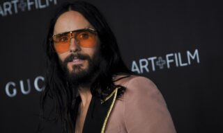 epa07968779 US actor/musician Jared Leto poses upon his arrival at the 2019 LACMA Art + Film Gala at the Los Angeles County Museum of Art in Los Angeles, California, USA, 02 November 2019.  EPA/CHRISTIAN MONTERROSA