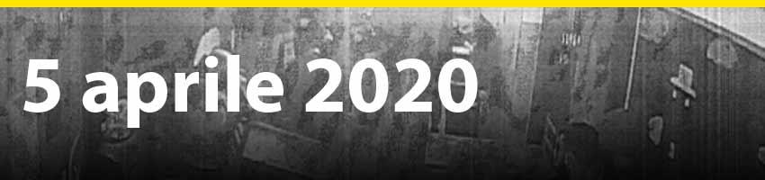 5 aprile 2020 - Il primo positivo e la barricata dei detenuti