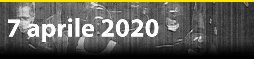 7 aprile 2020 - I depistaggi