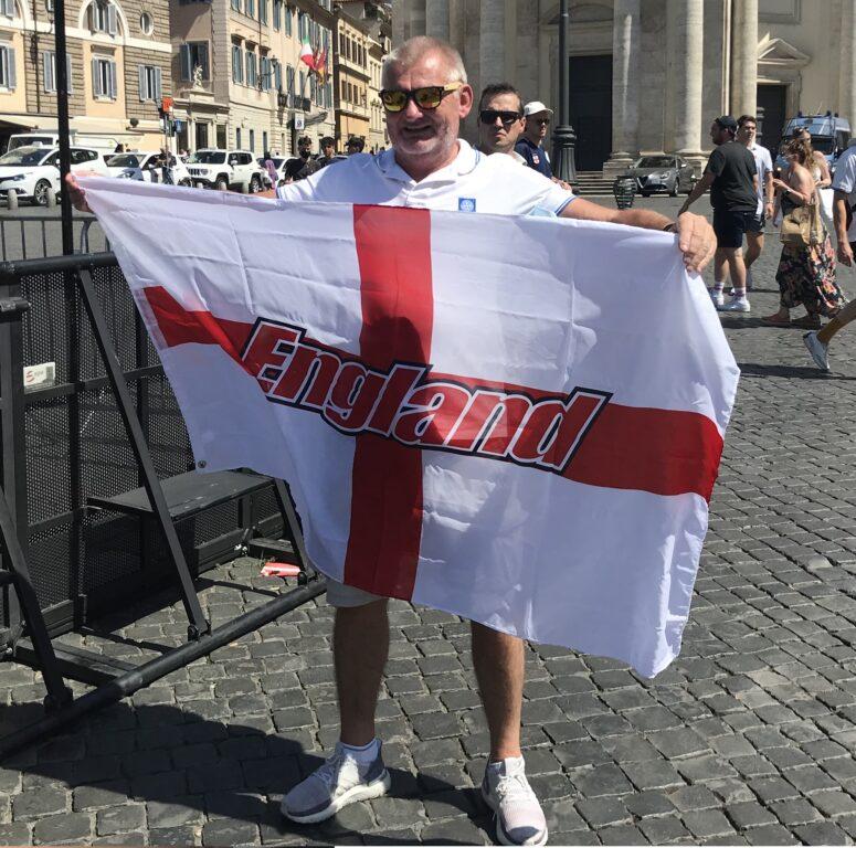 inghilterra ucraina tifosi inglesi roma 1