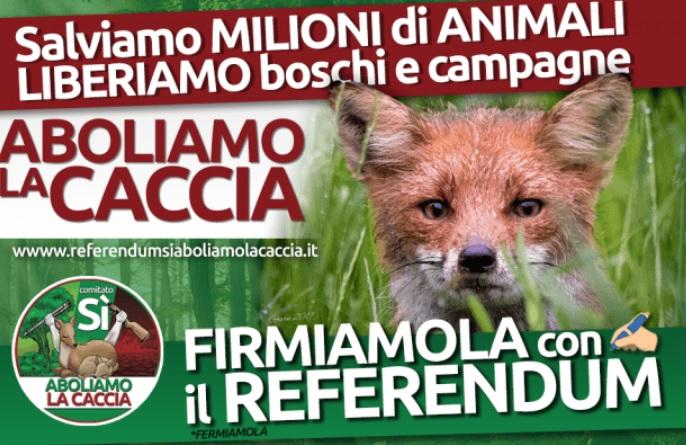 """Anche il referendum contro la caccia supera 500 mila firme. Ma c'è ancora il problema dei comuni """"lumaca"""""""