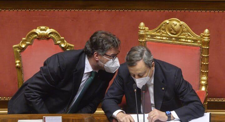 """La """"moral suasion"""" degli Stati Uniti su Giorgetti per lasciare Draghi a Palazzo Chigi"""